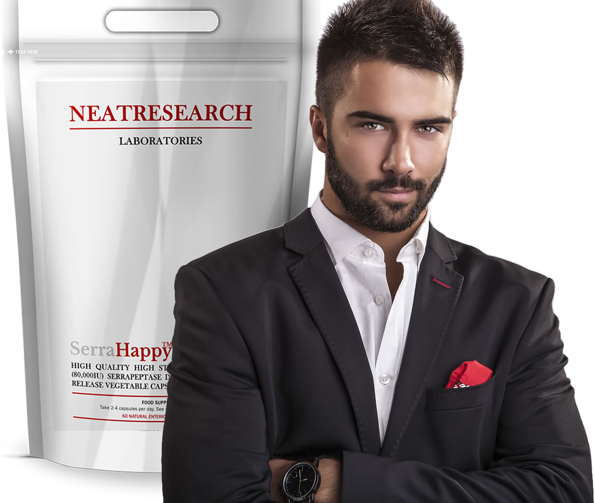 Serrapeptase for Men